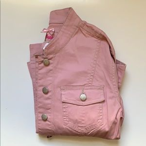 ❣️Pink Corduroy Denim Jacket